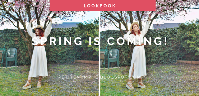 the white dress lookbook spring look