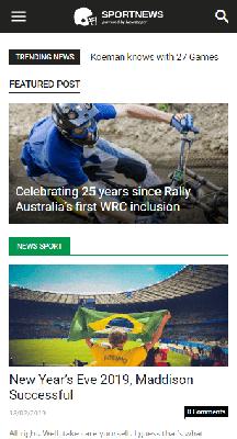 Download Template Blogger Newspaper Sport Gratis Full Fiktur