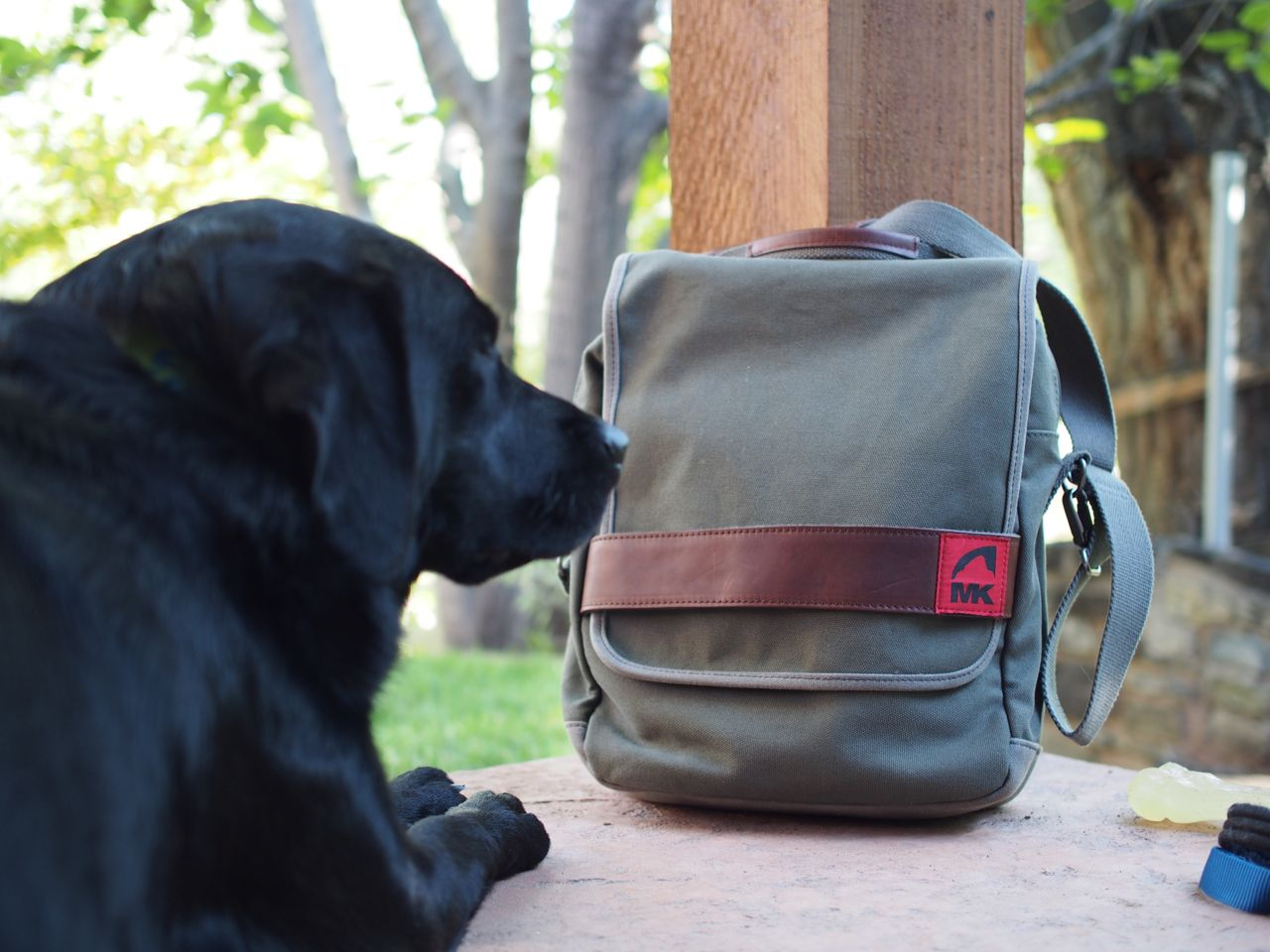 The Mk Field Bag Is Made Of 20oz Heavy Weight Canvas And Reinforced With 18oz Waxed Cotton Duck To Protect Your Gear From Rain Elements