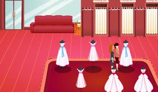 Game thời trang của hàng áo cưới