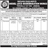 Indian Railways Recruitment - Pharmacist Job in Diesel Locomotives