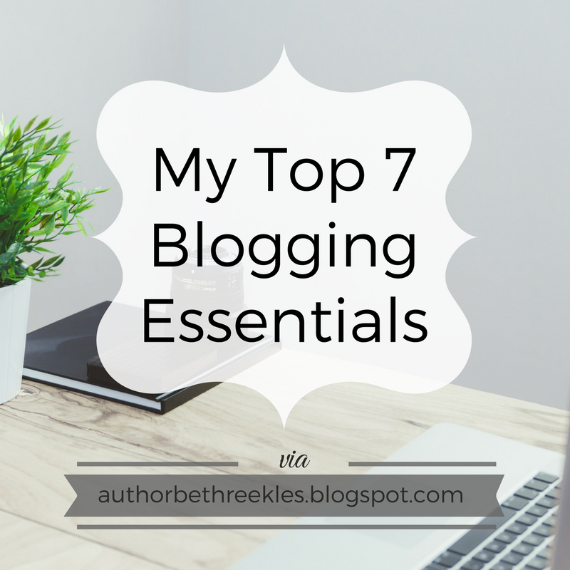 In this post, I share a few of my blogging essentials! What are yours?