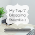 Social Media Week: My Top 7 Blogging Essentials