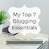 Social Media Week: My Top 7 Blogging Essentials