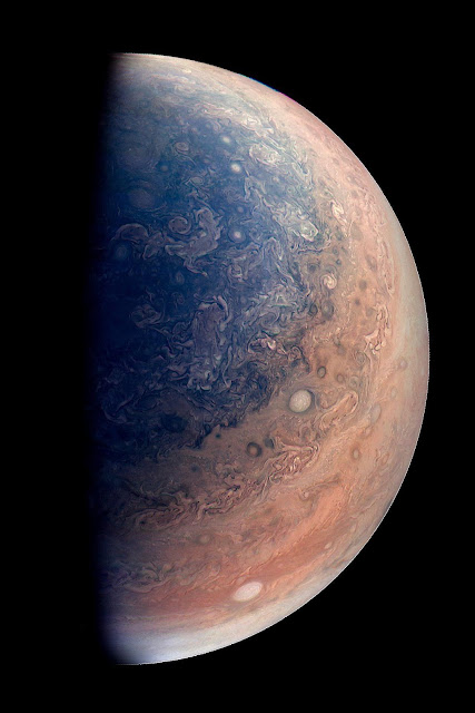 south pole of Jupiter