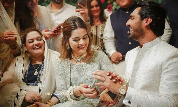 Minal Khan Engagement with Ahsan Mohsin, News Gone Viral on Social Media
