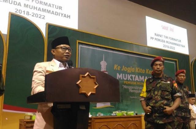 Ini Profil Sunanto, Ketua PP Pemuda Muhammadiyah yang Baru