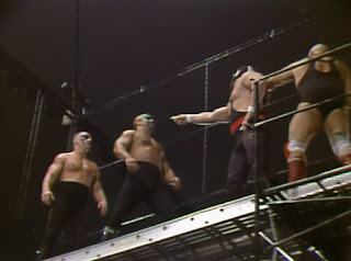 NWA Great American Bash 1988 - Scaffold match