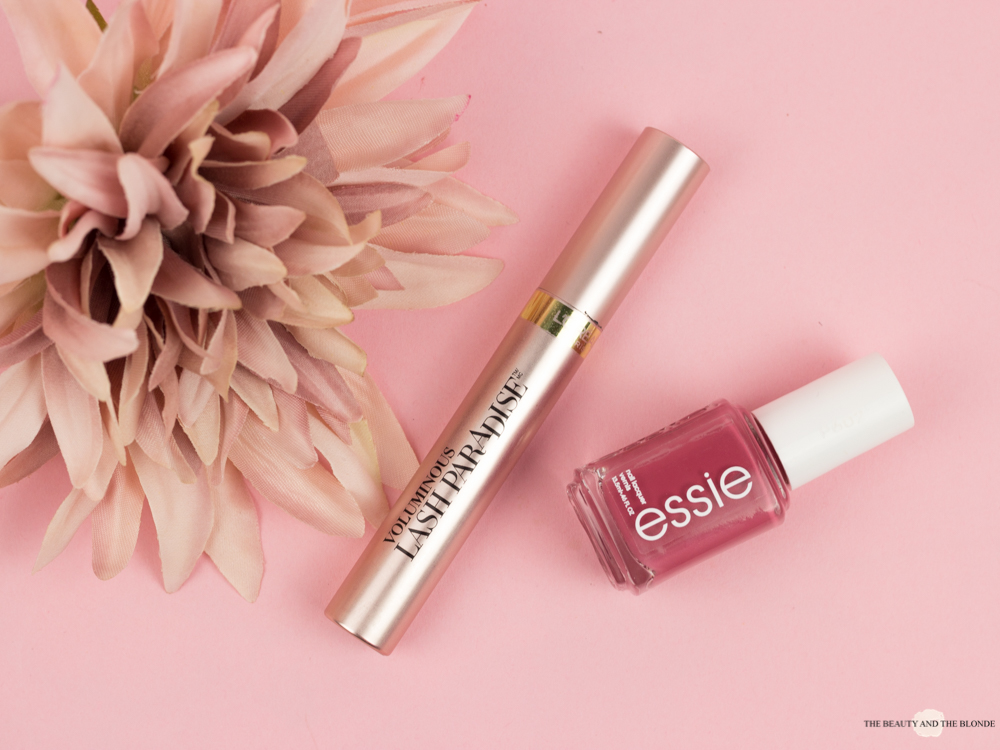Drogerie L'Oréal Lash Paradise Mascara Essie Nailpolish Nagellack Drugstore