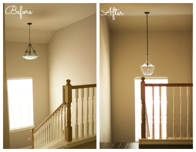 Old Porch Pendant Light Fixture