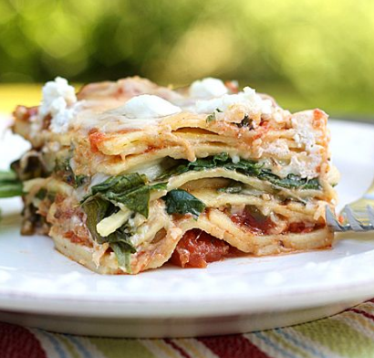 Goats Cheese Lasagna