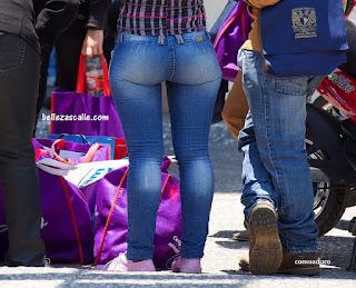 3915d72a423 Chicas culonas en jeans ajustados | Mujeres bellas en la calle