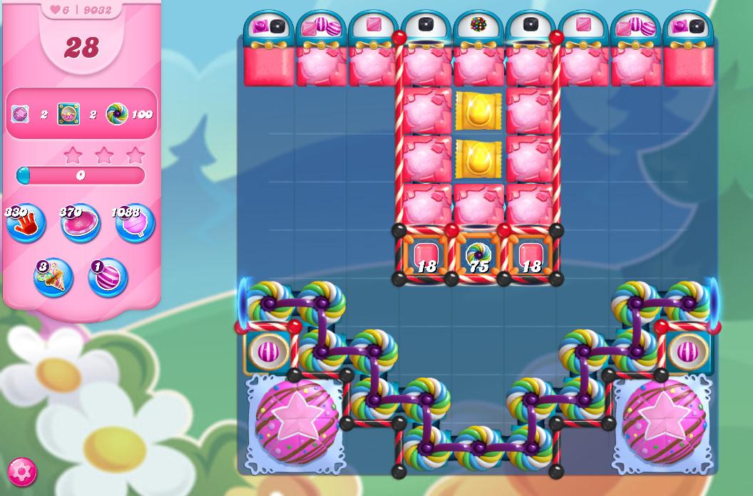 Candy Crush Saga level 9032
