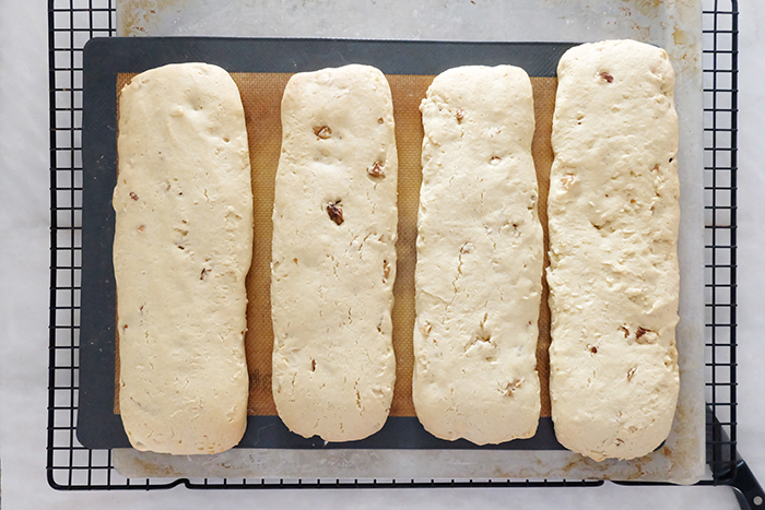 after the first bake