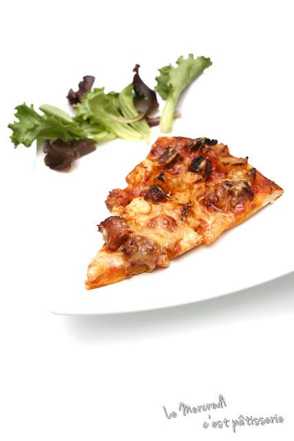 Pizza - pâte à pizza et quelques idées de garniture