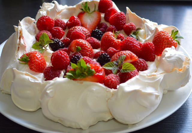 Summer Berries Pavlova