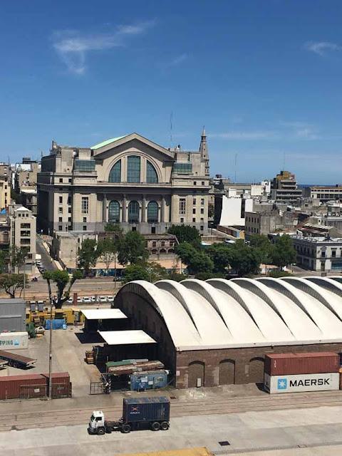 Монтевидео. Порт