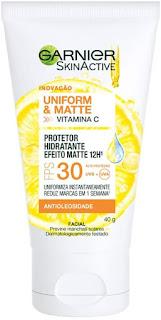 Protetor Hidratante Facial Efeito Matte Garnier
