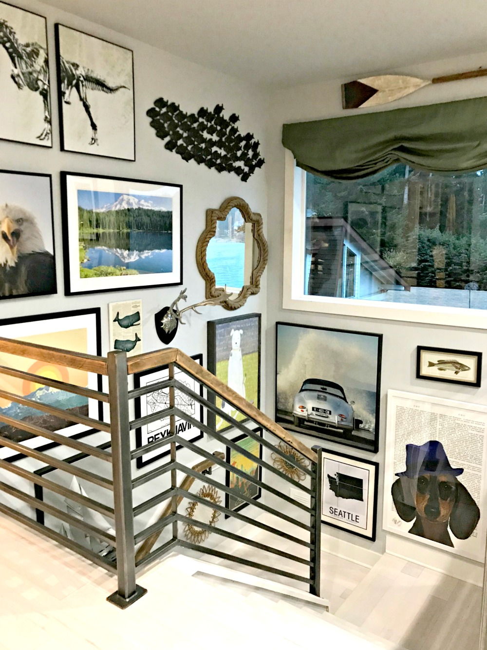 Interior Hgtv Photo Gallery my private tour recap of the 2018 hgtv dream home rachel teodoro design looks like you can safely hang up all your art and pictures because it gallery walls arent going any w