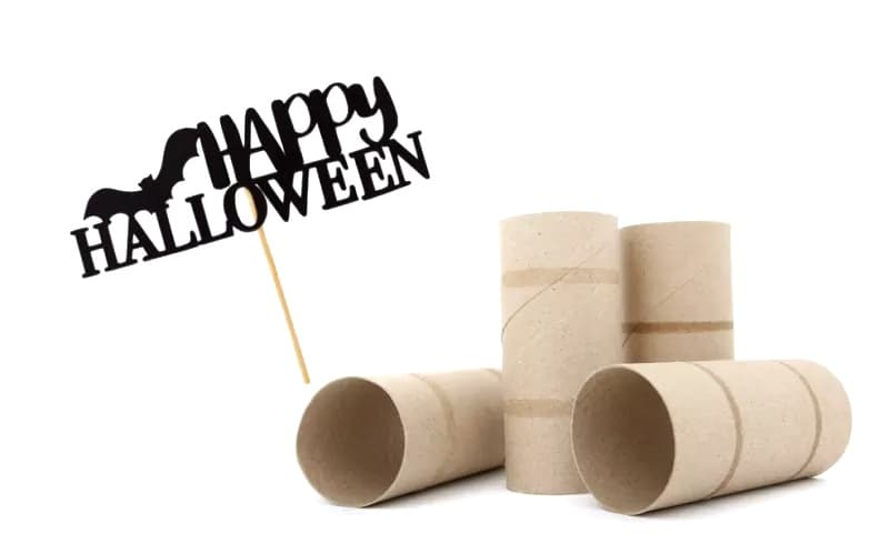 halloween craft ideas made from toilet paper rolls