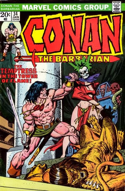 Conan the Barbarian #34, The Temptress in the Tower of Flame