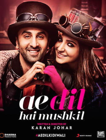 Ae Dil Hai Mushkil 2016 Hindi DVDScr x264 800MB