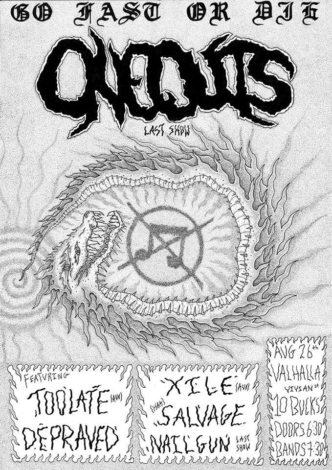 Oneouts Last Show