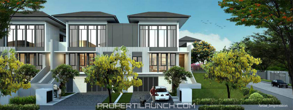 Tipe 10 Rumah Lakewood NavaPark BSD