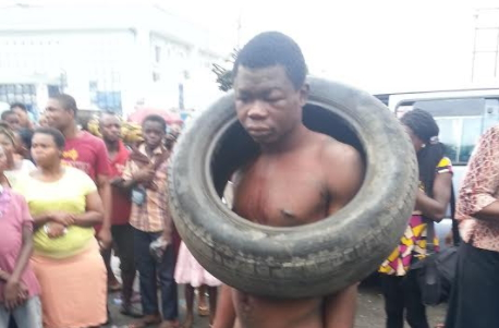garri thief arrested calabar