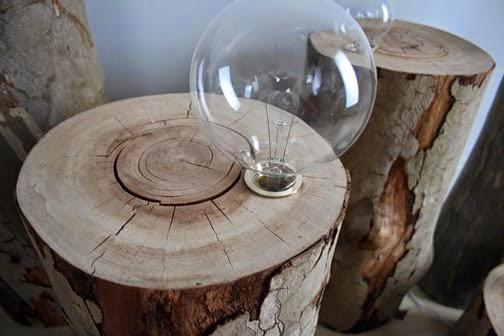 lamaparas de madera