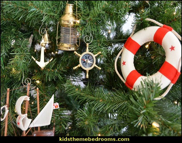 Ship's Wheel Compass Christmas Tree Ornament  Coastal Christmas decorating theme - coastal Christmas decor - beach christmas  - Beach Christmas Decorations  - seaside decor - coastal ornaments - beach themed Christmas decorations - beach themed christmas tree -  sea themed ornaments -  nautical accents - beach themed ornaments - coastal Christmas tree skirts - beach & seaside decorations - nautical Christmas decor - Nautical Holiday decor - coastal christmas ornaments