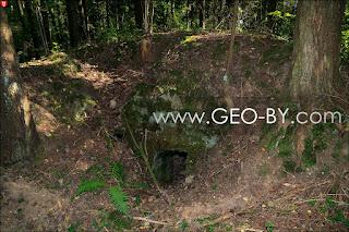 Wojciechowo (Novospask). Second found German bunker from the First World War