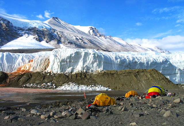 Antarctic Taylor Glacier