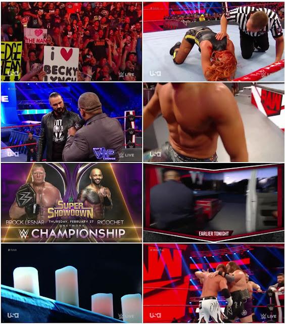 WWE Monday Night Raw 10 February 2020 720 HDTV