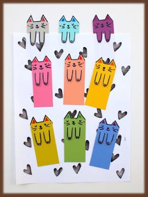http://diycandy.com/2015/06/cute-cat-diy-bookmarks/