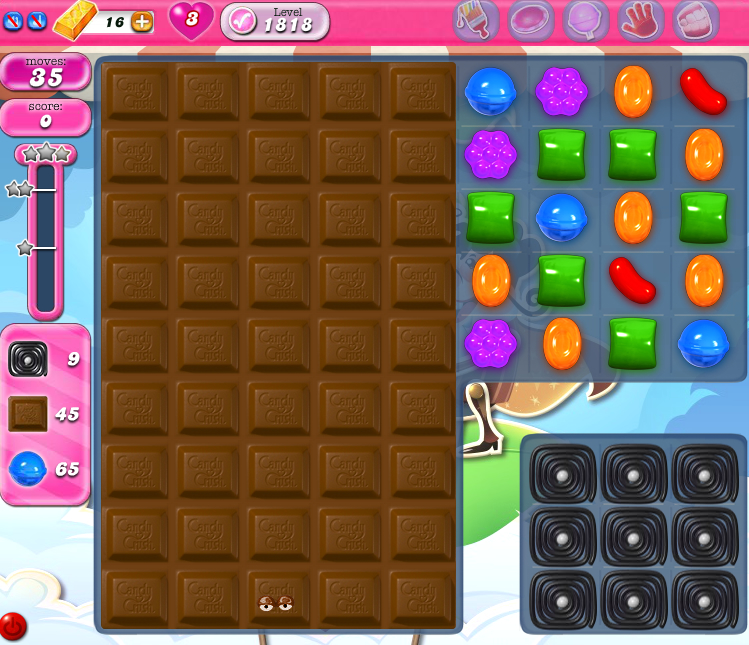 Candy Crush Saga 1818