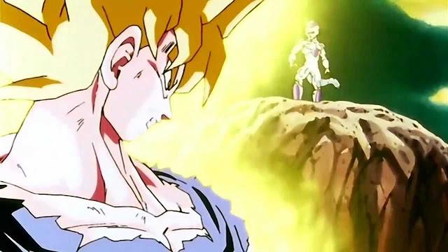 Goku Goes Super Saiyan