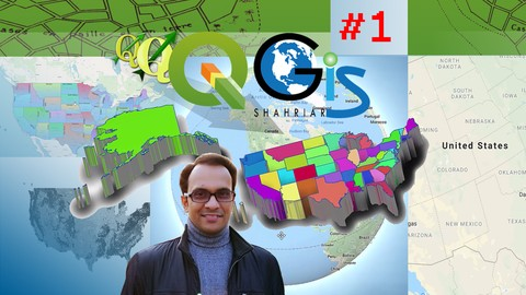 GIS & QGIS Level 1: Fundamental of QGIS (3.8 Version)