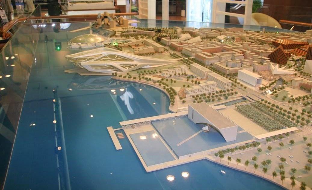 Plastico del progetto Saadiyat, da Wikipedia