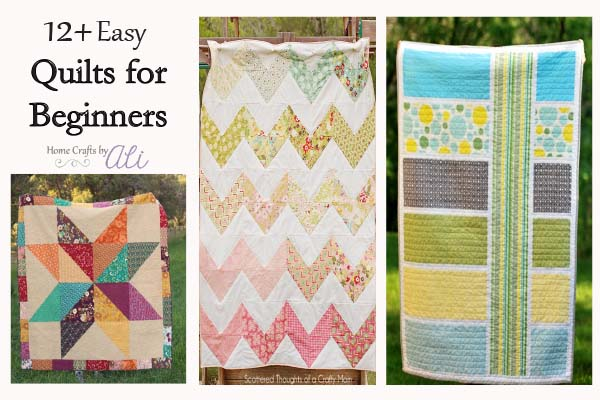12+ quilt tutorials for beginners