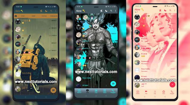 Kumpulan Tema YOWhatsApp Update Tampilan Keren 2021,yowa v8.87,aplikasi yowa anti banned,wa mod anti kadaluarsa,tema yowa kartun anime keren
