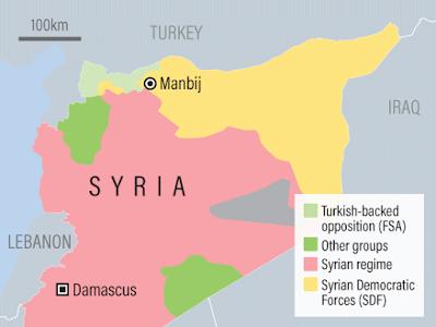 QSD militia sends thousands of gunmen to Manbij city