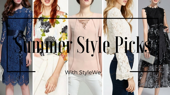 """My Summer Style Picks With StyleWe @throughmypinkwindow"""