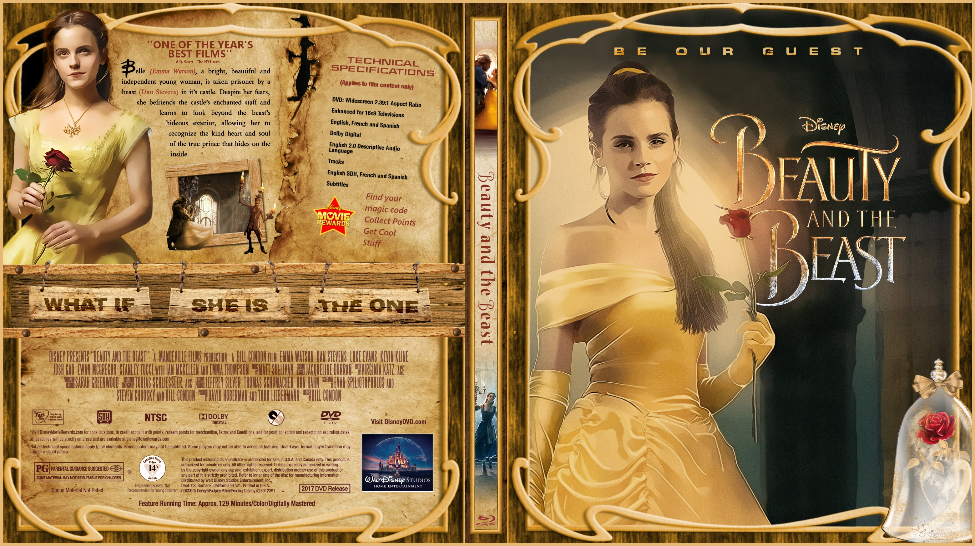 Beauty and the Beast (1991) BluRay 720p + Subtitle Indonesia