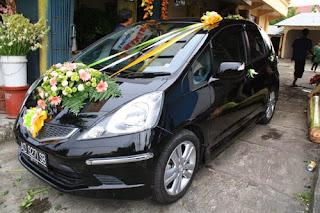 peluang bisnis wedding car decoration