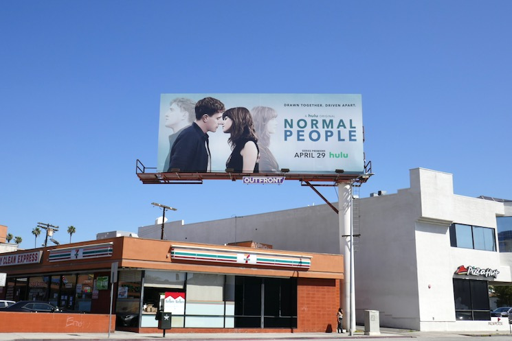 Normal People Hulu billboard