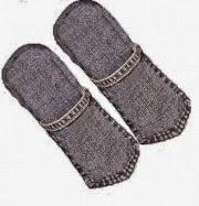 chinelo feito de jeans reciclado