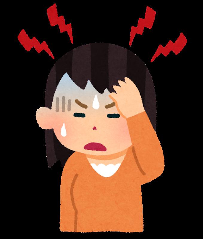 """「頭痛 フリー素材」の画像検索結果"""""""
