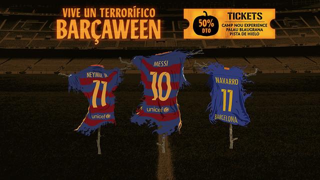 El FC Barcelona activa su particular Barçaween