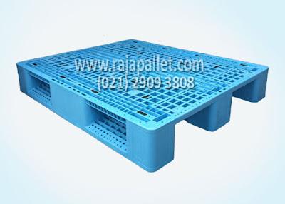 Jual Pallet Plastik Racking CN1210 HDPE Ukuran 120 x 100 x16 cm